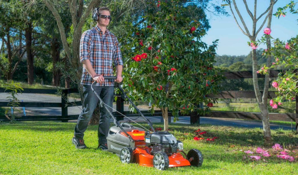 Husqvarna lawn mowers are stocked in Flower Power garden centres around Sydney.